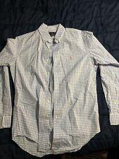 Ralph Lauren Polo Men's Checkered Button Up Shirt Small