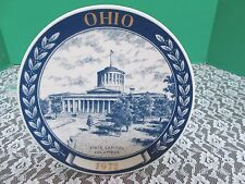 1972 State Capitol Columbus, Ohio Collector Plate First Edition Plate #925