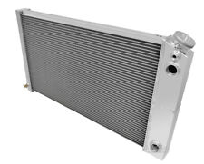 1973-80 Chevy Pickup Truck Dual-Pass Radiator, Champion Aluminum 3 Row, LS Motor