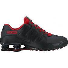 MEN'S SIZE 8.5 NIKE SHOX SNEAKERS NZ SE BLACK / GYM RED 833579 003 FAST SHIPPING