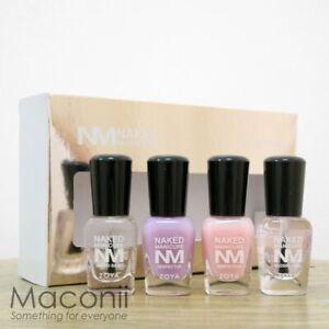Zoya Naked Manicure Mini Travel Set Base Top Coat Pink Perfector Nail Polish