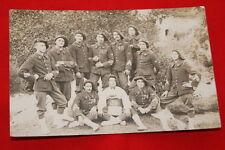 1914  CHASSEURS ALPINS PHOTO REGIMENT GUERRE