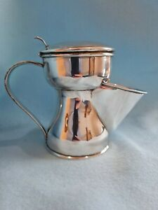 1895 Joseph Braham antique london Sterling Silver Shaving Mug. 275g