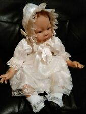 22 inch Reborn girl doll rooted hair pre-owned
