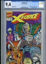 X-Force 1 - CGC 9.4 - 1991 - Wraparound cover - Cable cover - Nicieza, Liefeld