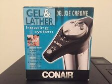 New Conair Gel And Lather Warmer Deluxe Chrome Heating System  HGL11