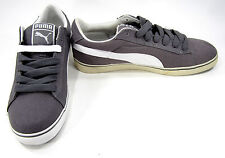 Puma Shoes Classic S Vulcanized Canvas Gray/White Sneakers Size 10.5