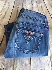 Hudson Women's Jeans Size 26 Boot Cut Stretch Distressed Denim