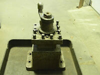 "USED 4 WAY TURRET INDEX TOOL POST 6"" x 9"" BASE"