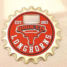 Texas Longhorn Bottle Buster Combo Fridge Magnet, Bottle Opener, Coaster