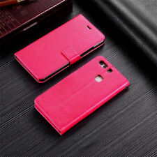 For Huawei P8 P9 P10 Lite 2017 Magnetic PU Leather Wallet Flip Stand Case Cover