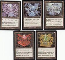 5 Ramos Artifacts - Mercadian Masques - NM/SP - 1x each - Sets - Magic MTG FTG