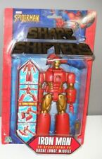 NEW SHAPE SHIFTERS Transformers MARVEL figure IRON MAN ToyBiz 2004 FRENCH CARD