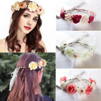 Bridal Flower Hairband Artificial Garland Wreath Wedding Decoration Hawaii Beach