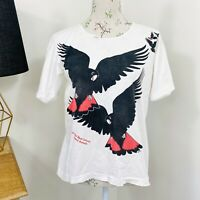 Vintage Australian Cockatoo T-Shirt Australiana Native Animals Single Stitch