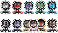 NEW 300 PC Ace Casino 14 Gram Clay Poker Chips Bulk Lot Mix or Match Chips