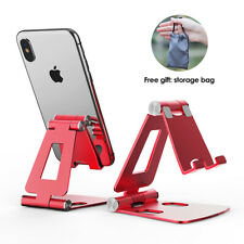 Metal Mobile Phone Holder Foldable Desk Stand For iPhone 12 11 Pro Max Samsung