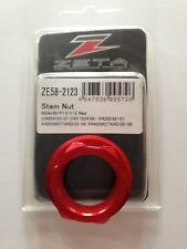HONDA  CR 85 R   2003-2007  ZETA STEERING STEM NUT ANODIZED  RED