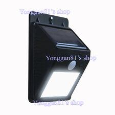 Outdoor Solar Power Light LED Motion Detector Security Exterior Lighting Sensing