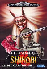 ## SEGA Mega Drive - Revenge of Shinobi (nur das Modul, ohne OVP / unboxed)  ##