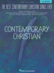 The Best Contemporary Christian Songs 2nd Edition Sheet Music Piano 000311985