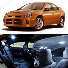 8 x White LED Interior Light Package Kit For Dodge Neon 2000 - 2005 + TOOL