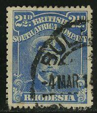 Rhodesia   1913-23   Scott #123a   USED