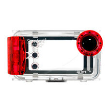 Seashell SS-i Waterproof Underwater Housing Case for iPhone 3 3G 3GS 4 4S Red