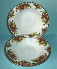 Royal Albert Old Country Roses 6 PC. Rim Soup Bowl Set New