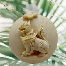 Chinese guardian foo dog pendant