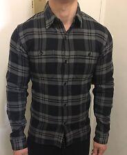 The Flat Head Work Shirt Small Free Shipping 38 Grey Black