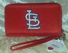 St. Louis Cardinals Bling Wristlet Cell Phone Wallet Rhinestone MLB Licensed!