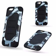 Armor Moro Camouflage Schutzhülle Militär Etui Apple iPhone 6 Plus GRAU