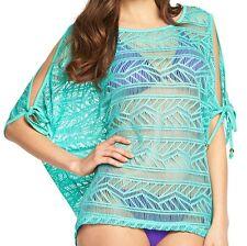Resort Womens Green Beach Wear Tunic Sz18 BNWT Sarong Costume Suit 16 l xl New