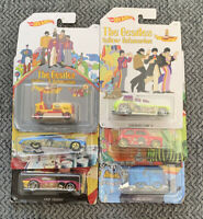 Hotwheels The Beatles Yellow Submarine Complete Collection Of Six