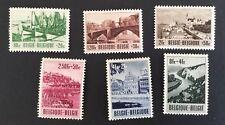 Belgium Sc# B538-B543 Complete Set Mint Hinged (Mh) 1953