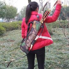Target Belt Hunting Archery Quiver Back Hip Waist Bag Arrow Bow Holder Pouch Us