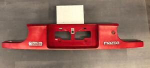 1995 1996 1997 Mazda MX-5 Miata Tail Finish license plate Panel Red