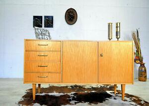 60er 70er Sideboard Lowboard Stil Mid Century Vintage Kommode Schränkchen