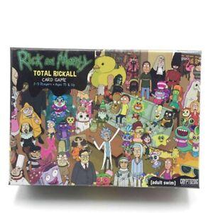 Rick And Morty Total Rickall Board Game, fun game