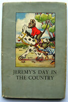 RARE VINTAGE LADYBIRD BOOK - Jeremy's Day in the Country & DJ,1941 FIRST EDITION