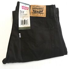 Levi Strauss & Co. Women's Pants Levi's 513 Slim Straight Sz 16 R 28x28 Brown
