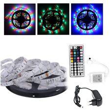 5M 3528 LED RGB Strip Band SMD Streifen Leiste Lichterkette Controller Netzteil