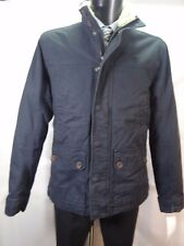 TIMBERLAND Navy BLUE Padded Jacket with FUR Collar Size S BNWT