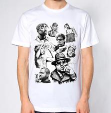 Camiseta Leyendas De Rap Hip Hop Biggie Eazy E Hielo Tupac rappers Dope Hipster Top