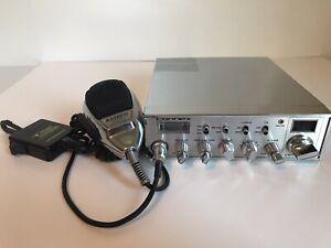 CONNEX CX-4400 CB Radio 100W w/ ASTATIC 636L-C 4 Pin Mic & Gear Keeper Retractor