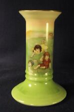 Royal Bayreuth Jack Jill and candlestick china signed