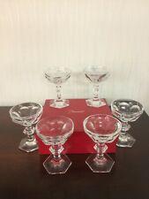 Coupe à Champagne Harcourt en cristal de Baccarat (12 verres encore disponible)
