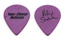 TSO Trans-Siberian Orchestra Alex Skolnick Purple/Black Guitar Pick - 2009 Tour