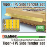 DEF Model 1/35 Tiger I Side Fenders Set for Academy/Dragon/Tamiya/Zvezda
